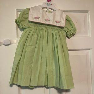 Nursery rhyme watermelon dress